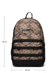 PUMA - PUMA Style Backpack - sportstasker - shitake-camo aop - 4