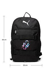 PUMA - NEYMAR JR Deck Backpack - sportsbagger - peacoat-puma white-puma red - 4