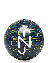 NJR Fan Graphic mini ball - PEACOAT-DANDELION-JELLY BEAN-WHITE