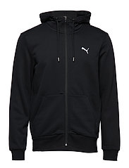 ESS FZ Hoody, FL - COTTON BLACK