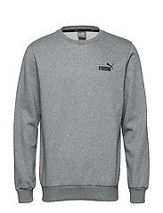 ESS Logo Crew Sweat FL - MEDIUM GRAY HEATHER