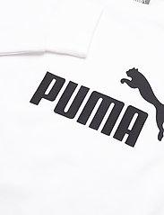 PUMA - ESS Logo Crew Sweat TR - svetarit - puma white - 2