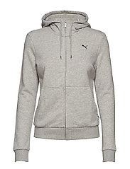 ESS Hooded Jacket TR - LIGHT GRAY HEATHER-CAT