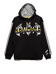 Justice League Hoody B - COTTON BLACK
