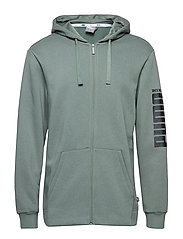 Rebel Bold FZ Hoody FL - LAUREL WREATH