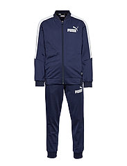 Baseball Collar Track Suit B - PEACOAT