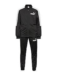 Baseball Collar Track Suit B - PUMA BLACK