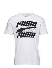 Rebel Basic Tee - PUMA WHITE