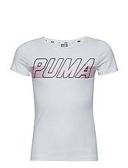 Alpha Logo Tee G - PUMA WHITE