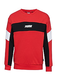Rebel Crew Sweat B - HIGH RISK RED