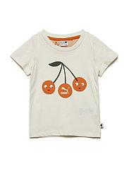 Classic Tiny Cotton Logo Tee - WHISPER WHITE