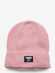 Ribbed Classic Beanie - luer - bridal rose