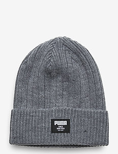 Ribbed Classic Beanie - mutsen - medium gray heather