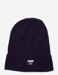 Ribbed Classic Beanie - hats - peacoat