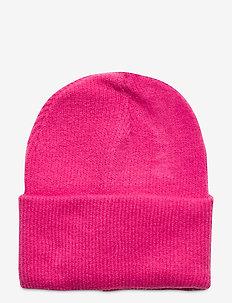 Ws Beanie - mutsen - glowing pink