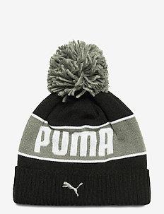 PUMA POM Beanie - mössor - puma black-ultra gray