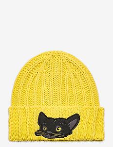 Animal Beanie - mössor - super lemon-panther