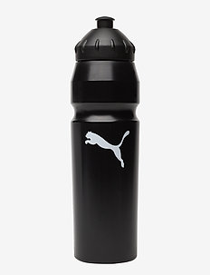 Waterbottle Plastic 1 l - BLACK-WHITE