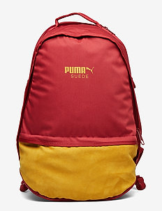 Puma Suede Backpack - RED DAHLIA