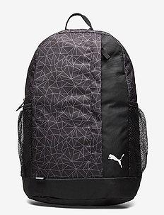 PUMA Beta Backpack - torby treningowe - puma black-aop