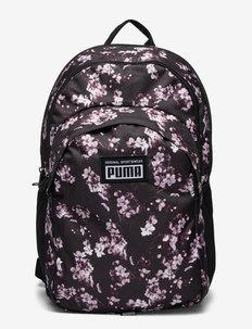 PUMA Academy Backpack - sporttaschen - puma black-floral aop