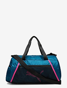 AT ESS barrel bag - gymtassen - digi-blue-puma black-luminous pink