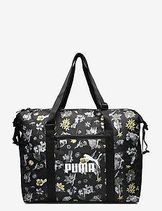 WMN Core Seasonal Duffle Bag - gymtassen - puma black-aop