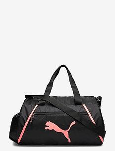 AT ESS barrel bag Pearl - gymtassen - puma black-nrgy peach