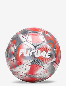 FUTURE Flash Ball - football equipment - grey dawn-nrgy red-castlerock-puma white
