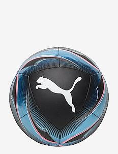 Puma ICON ball - trainingsausrüstung - puma black-luminous blue-pink alert