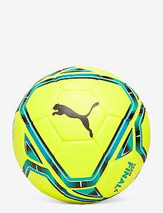 teamFINAL 21.4 IMS Hybrid Ball size 4 - football equipment - lemon tonic-spectra green-puma blac