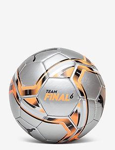 teamFINAL 21.6 MS Ball - Équipement de football - puma silver-shocking orange-puma bl