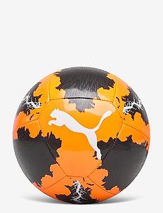 Puma SPIN ball - Équipement de football - shocking orange-puma black-puma whi