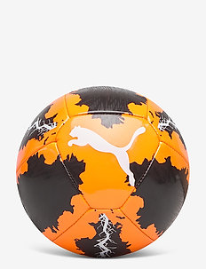Puma SPIN miniball - Équipement de football - shocking orange-puma black-puma whi