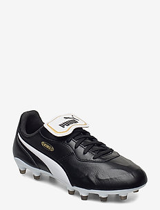 KING Top FG - fotbollsskor - puma black-puma white