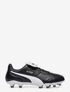 KING Top FG - football shoes - puma black-puma white