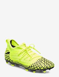 FUTURE 4.3 NETFIT FG/AG - football shoes - yellow alert-puma black