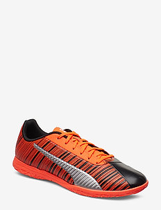 PUMA ONE 5.4 IT - football shoes - puma black-nrgy red-puma aged silver