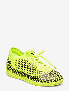 FUTURE 4.4 IT Jr - buty piłkarskie - yellow alert-puma black