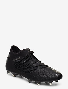 FUTURE 5.3 NETFIT FG/AG - football shoes - puma black-asphalt