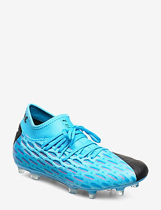 FUTURE 5.2 NETFIT FG/AG - football shoes - luminous blue-nrgy blue-puma black-