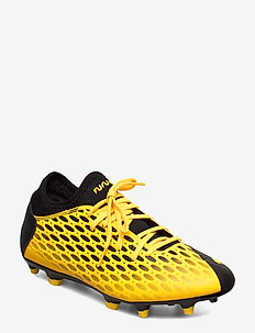 FUTURE 5.4 FG/AG - football shoes - ultra yellow-puma black