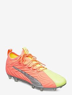 PUMA ONE 20.3 FG/AG OSG - fodboldsko - nrgy peach-fizzy yellow-puma aged s
