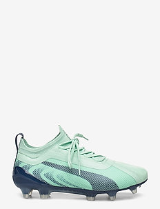 PUMA ONE 20.1 Wms  FG/AG - football boots - mist green-high rise-dark denim