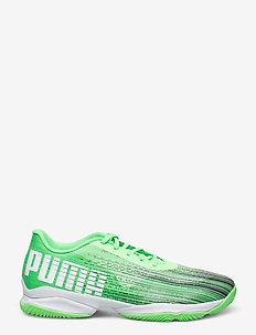 Adrenalite 2.1 - inomhusskor - elektro green-puma black-puma white