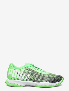 Adrenalite 3.1 - indoor sports shoes - elektro green-puma black-puma white