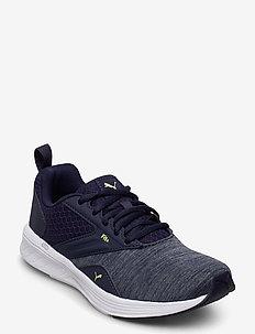 Comet Jr - training shoes - peacoat-sharp green-puma white