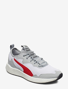 NRGY Neko Skim Jr - PUMA WHITE-HIGH RISE-CASTLEROCK-HIGH RISK RED