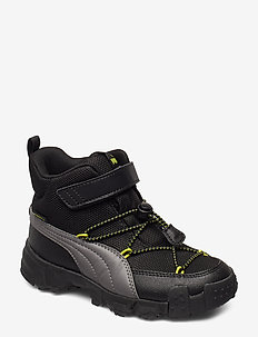 Puma Maka PURETEX V PS - CASTLEROCK-NRGY YELLOW