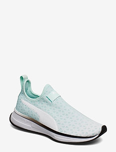 SG Slip-On Bright Fade - FAIR AQUA-PUMA BLACK